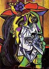 Elegie Strawinsky as weeping woman Picasso